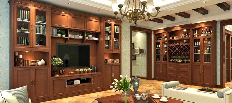 中式风格-客厅