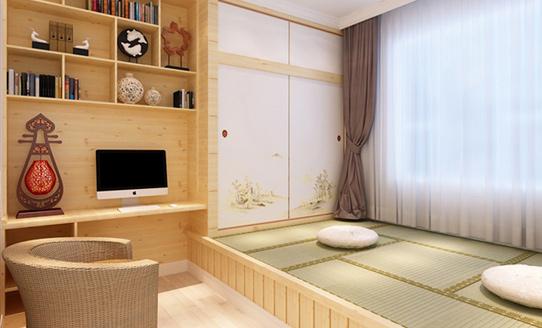 卧室榻榻米家具定制