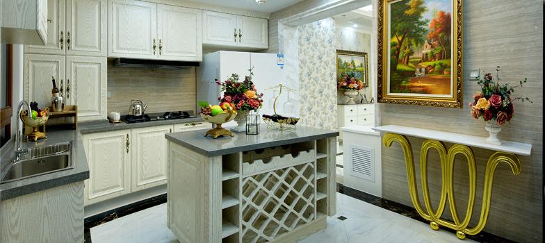 欧式厨房橱柜定制