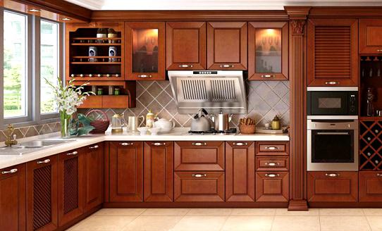 原木厨房定制