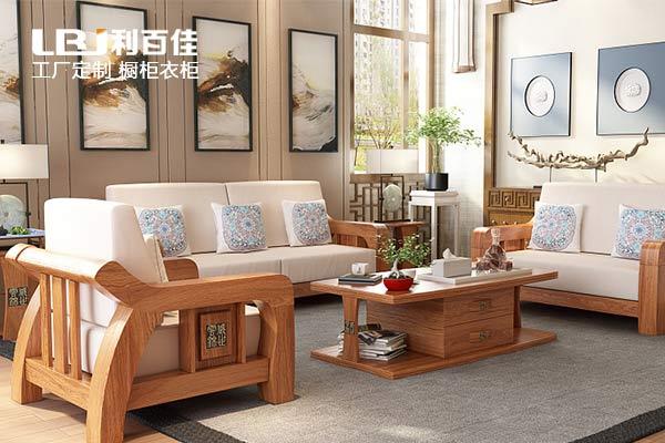 原木定制家具,尽显整体美