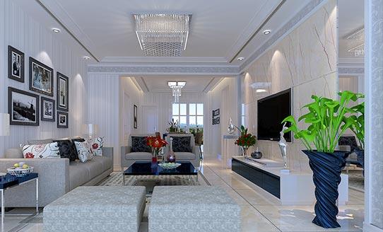 现代风格-客厅