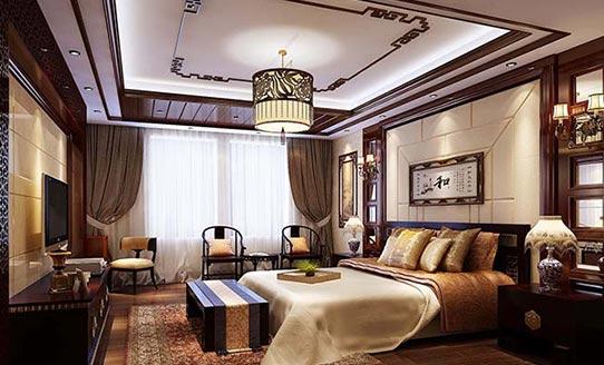 豪华中式卧室装修