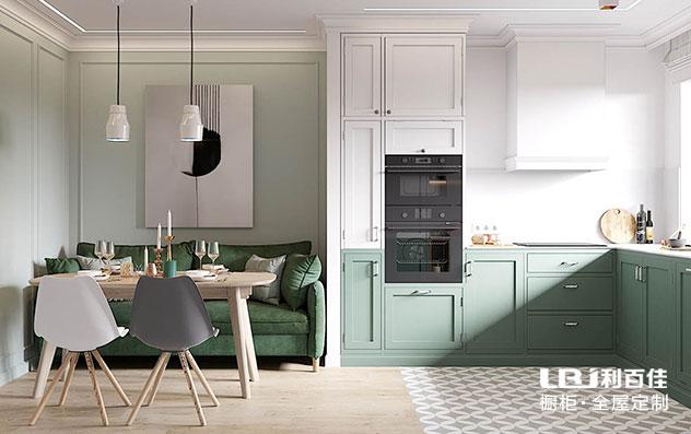 北欧风厨房橱柜定制,感受纯净带来的优雅