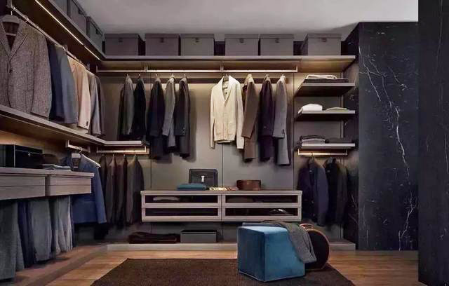 衣帽间整体衣柜定制,这三点不能忽视