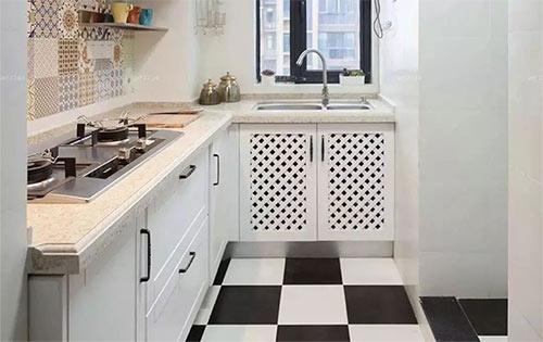 适合小户型厨房的L型橱柜设计,空间再也不浪费