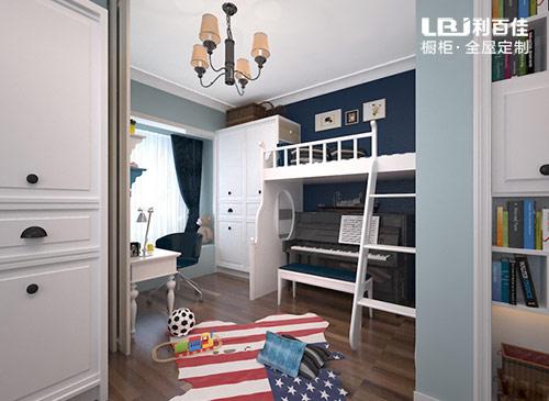 男孩儿童房家具定制方案解析,功能化设计很重要!