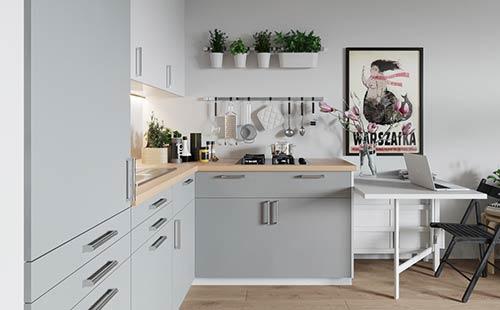 """小户型橱柜设计,""""迷你""""厨房的扩容术!"""