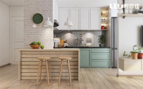 定制一个1㎡的厨房橱柜吧台,感受慢节奏的生活