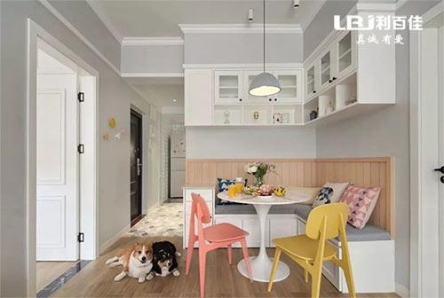 一套北欧风小户型全屋定制,精致优雅,非常耐看的家