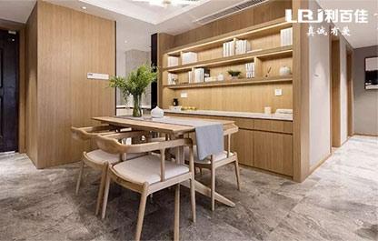 新中式风原木柜子定制,很温馨、舒适